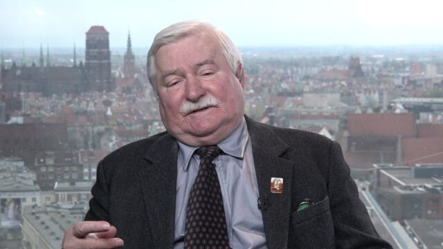 Image result for lech walesa tvn24