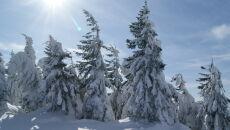 Zima na Małym Skrzycznym