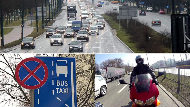 Motocykle będą mogły jeździć buspasami? tvnwarszawa.pl