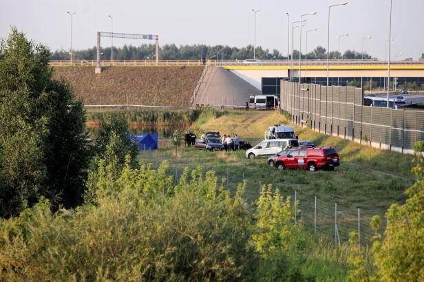 Ciało znaleziono w sobotę przy zbiorniku wodnym Leszek Szymański / PAP