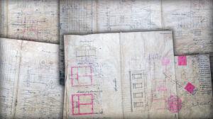 Stare dokumenty w meblach na śmietniku. Co w nich było?