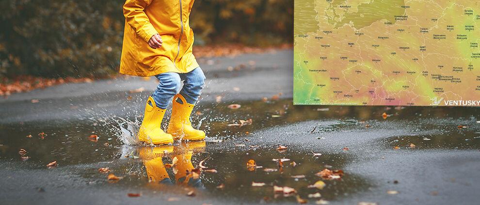 Pogoda na pięć dni: </br>sporo deszczowych miejsc, ale nawet 23 stopnie