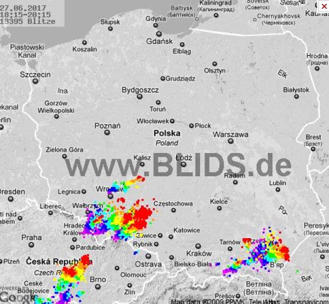 Zobacz, gdzie grzmi (BLIDS.DE)
