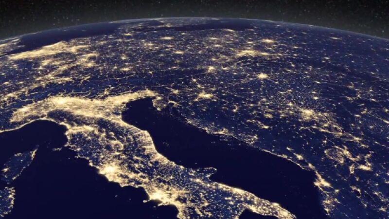 W czasie świąt Ziemia świeci wyjątkowo jasno