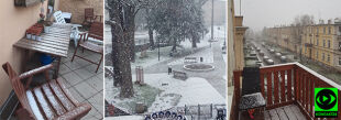 Spadł śnieg. Uwieczniacie powrót zimy