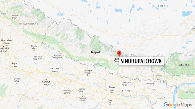 Ofiary śmiertelne i zaginieni po osunięciu się ziemi w Nepalu
