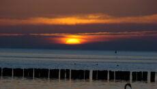 Wschód słońca w Trójmieście