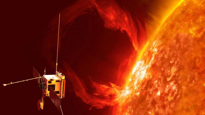 """Potężna burza magnetyczna zagraża Ziemi. <br />""""To kwestia kiedy, a nie czy do niej dojdzie"""""""