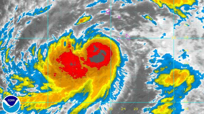 Tropikalny Humberto przekształca się w huragan. Może być rekordowy