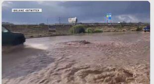 Powodzie w Utah