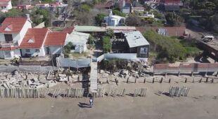 Morze zagraża mieszkańcom Las Toninas